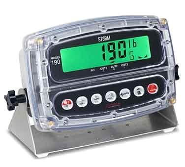"""Detecto 190 Digital Weight Indicator 1"""" polycarbonate LCD display for bench mode"""