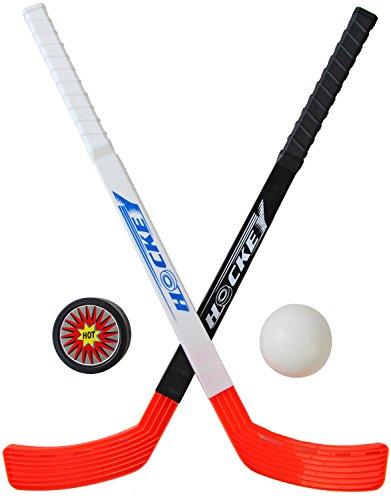 Seiler24 Streethockey Hockey Set mit Ball und Puck