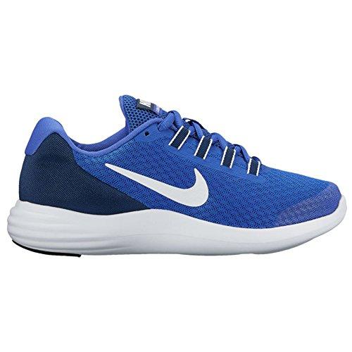 Nike Youth Lunarconverge Mesh Trainers Blue White