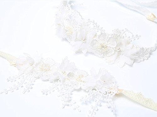 Wrist Corsage Flower Elastic Band Wedding Prom Party - 6