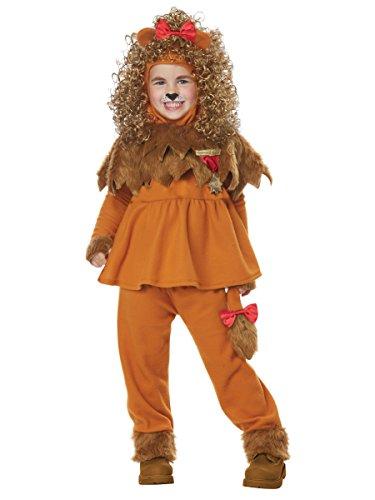 Courageous Lion of Oz Toddler Costume Tan