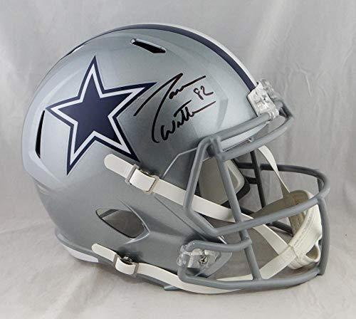 Jason Witten Autographed Dallas Cowboys Full Size Speed Helmet- JSA W Auth Black