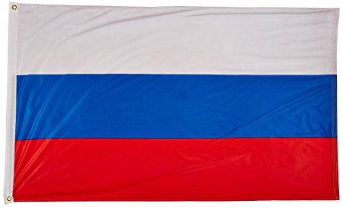 US Flag Store Russian Federation Flag 3ft x 5ft Superknit Polyester