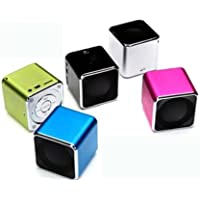 DTI CAR AUDIO Mini Cube Multi-Function Bluetooth Speaker (Silver)
