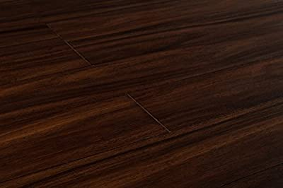 Yanchi Bamboo Wood Flooring 9/16 x 3 3/4 IN Plank - Strand Woven Direct Print Collection