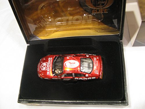 NASCAR Action Racing Collectables RCCA Elite Kasey Kahne 2004 Dodge Intrepid #9 Rookie of the Year Logo Liquid Color Finish Hood Opens Trunk Opens Yellow Rookie Stripes 1/64 Scale Only 480 Made