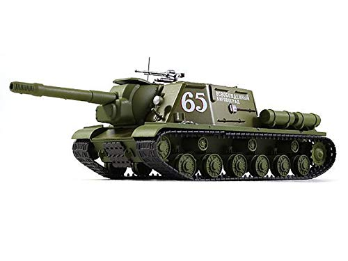 ISU-152 1944 Year - Legendary Soviet Self-Propelled Gun WWII- 1/43 Scale Collectible Model Vehicle - Russian Self-Propelled Artillery Zveroboy (Зверобой)