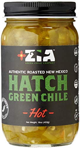 (Original New Mexico Hatch Green Chile By Zia Green Chile Company - Delicious Flame-Roasted, Peeled & Diced Southwestern Certified Green Peppers For Salsas, Stews & More, Vegan & Gluten-Free - 16oz)