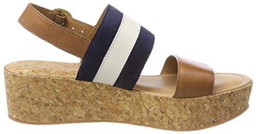 Gant Plataforma Sandalias Con Mehrfarbig Mujer Para cream tan marine Judith wqTwva