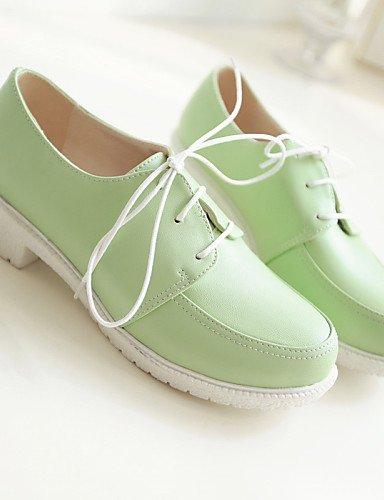 Njx Pink confort Bout Rose Vert Bureau Habillé Extérieure Gros Travail Chaussures 10 Décontracté 5 Femme Eu41 Talon Cn42 8 Uk7 Beige Bleu amp; us9 5 a6fraq