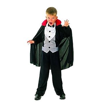 Disfraz de vampiro para niño ideal para Halloween: Amazon.es ...