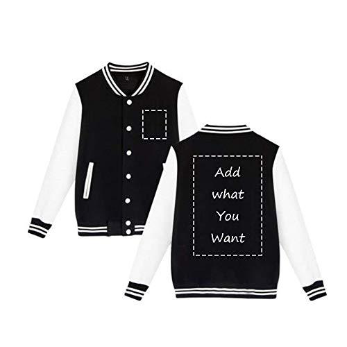 (Personalized Lightweight Varsity Jacket Custom Baseball Jacket For Men&Women)