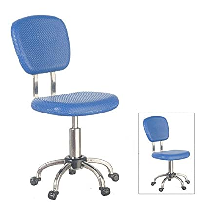 Fine Amazon Com Miniature 1 12 Scale Office Desk Chair In Blue Download Free Architecture Designs Scobabritishbridgeorg