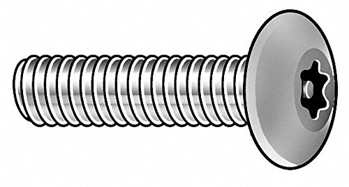 10-24 x 5//8 Button Head Torx Security Machine Screw Bolt Screws Stainless Steel Tamper Resistant Qty 25 Thread Size 10-24 x 5//8 Length by Fastenere