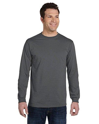- econscious 5.5 Oz., 100% Organic Cotton Classic Long-Sleeve T-Shirt (EC1500)- Charcoal,XX-Large