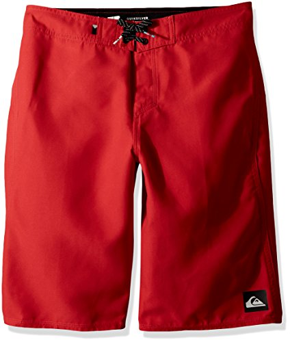 Quiksilver Big Boys' Highline Kaimana Kids Swim Trunks, Quick Red, 26/12 ()