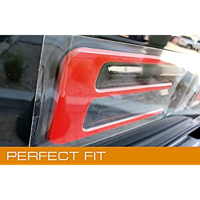 EyeCatcher Tailgate Insert Letters fits 2020-2020 Ford Ranger (Red): Automotive