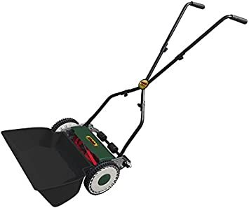 WEBB H30 30cm Hand Mower - Self-Adjusting Master