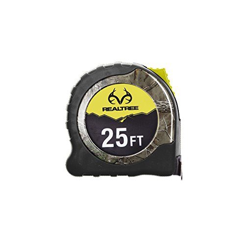 RealTree Tape Measure - 16ft - Xtra Yellow - 16' Abs Bath