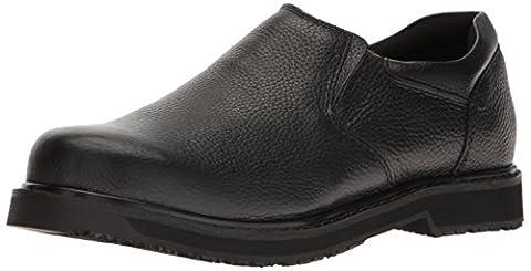 Dr. Scholl's Men's Winder II Work Shoe, Black, 10.5 M US - 2 Leather Casual Shoe
