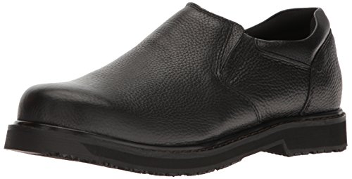 Dr. Scholl's Men's Winder II Work Shoe,Black, 9 D(M) US