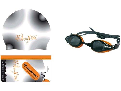 MT Creations - 708808 - Jeu de Plein Air - Set Bonnet/Lunettes.Longboard - Silicone - Orange