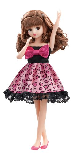 Lica chan LW-03 Cutie leopard one piece Dress (doll not included) [JAPAN]