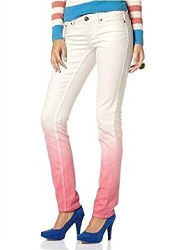 Jeans Dip Blanc par Saumon en AJC Dye blanc fOzqxZOgw