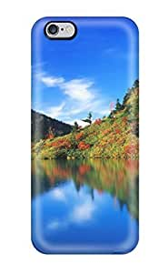 Excellent Case For Samsung Galaxy S5 Cover Case PC Cover Back Skin Protector Autumn Reflection Japan