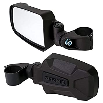 Polaris RZR Pursuit Side View Mirrors for 1.75 Roll Cages By Seizmik 18071