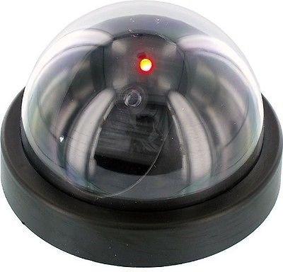 Simplyシルバー – Gift Idea FakeドームセキュリティカメラW /赤点滅ライトImitation Surveillance B079TC7R28