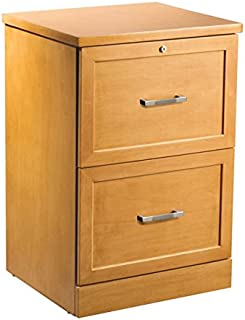 OfficeMax Premium Light Cherry 2-Drawer Vertical File  sc 1 st  Amazon.com & Amazon.com : Belham Living Cambridge 2-Drawer Wood File Cabinet ...