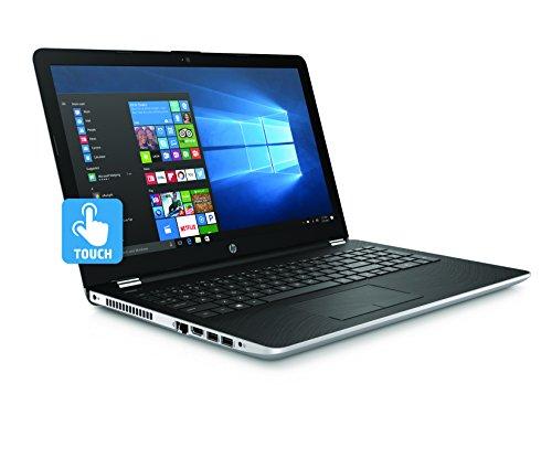 Newest HP 15.6-inch HD Touchscreen Display Laptop PC, Intel Dual Core i5-7200U 2.5GHz Processor, 8GB DDR4 SDRAM, 1TB HDD, Bluetooth, HDMI, 802.11ac WiFi, DVD +/- RW, Windows 10-Natural Silver