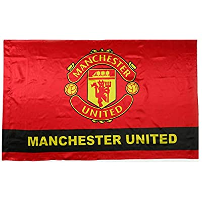 Manchester United FC Flag Soccer Club Fans Outdoor Authentic Banner 3x5 ft Red
