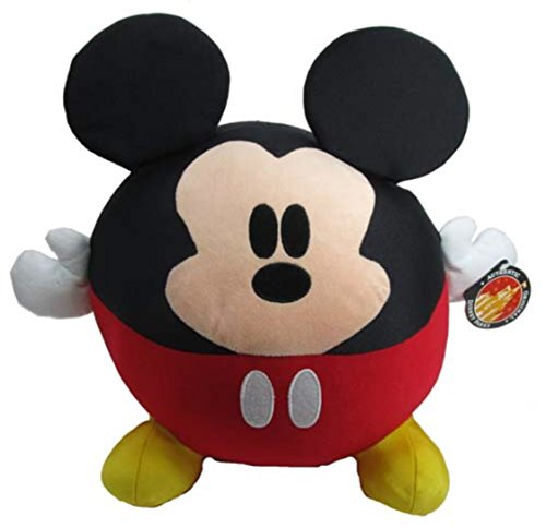 Disney Park Mickey Mouse Round Stuffed Doll - Large (Round Mouse Mickey)