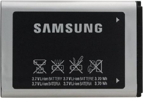 Samsung AB553446BAB/AB553446BABSTD Lithium Ion Battery - Original OEM - Non-Retail Packaging - Black