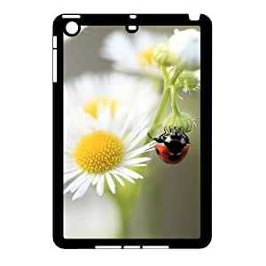 Fggcc Lady Bugs Daisy Flowers Durable Case for Ipad Mini,Lady Bugs Daisy Flowers Ipad Mini Phone Case (pattern 10)