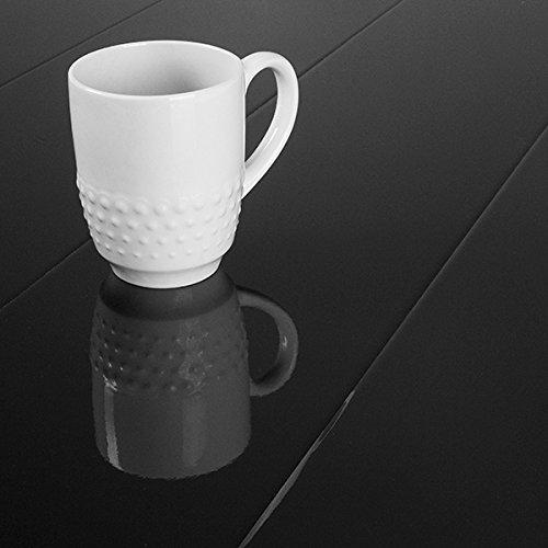 Cheap  Elesgo Super Gloss Black 8.7mm Laminate Flooring 772315 SAMPLE