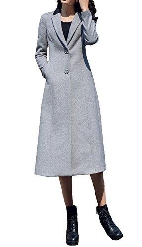 Gris gray Femme Color Manteau Plaer Blouson Uq1Uw
