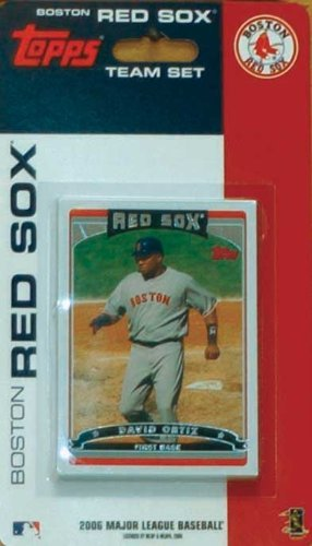 Boston Red Sox 2006 Factory Sealed Limited Edition 14 Card Team Set with David Ortiz Manny Ramirez Curt Schilling Plus ()