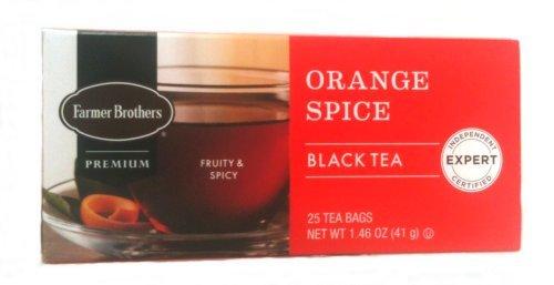 - Farmer Brothers Orange Spice Black Tea, 25 bags