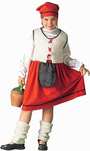 Disfraz de Pastora Lechera para niña: Amazon.es: Juguetes y juegos