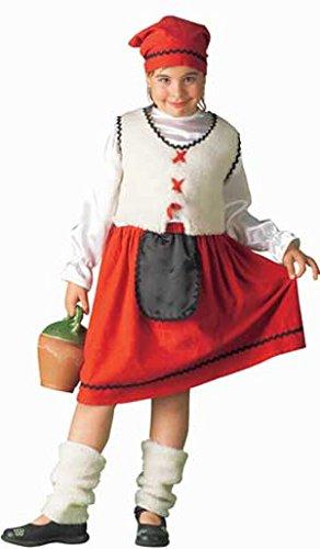 Disfraz de Pastora Lechera para niña: Amazon.es: Juguetes y ...