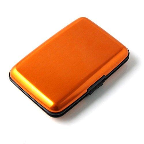 Pocket Waterproof Business ID Credit Card Wallet Holder Box Case - 7