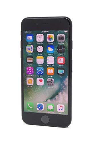 Apple iPhone 7 128 GB AT&T, Jet Black (Renewed)