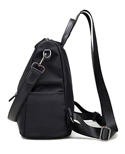 Di Partito Donne Daypack Spalla Voguezone009 Grigio Nero Nylon Alpinismo Sacchetti Zaini Ccaybo181367 wq7wxaCI
