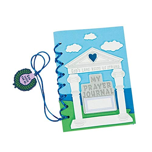 Pillar of Strength Prayer Journal Craft Kit by Fun Express