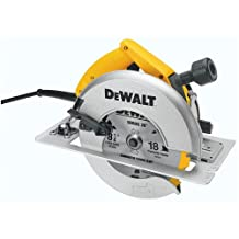 8-1/4 in. (210mm) Circular Saw with Rear Pivot Depth of Cut Adjustment and Electric Brake (DW384)