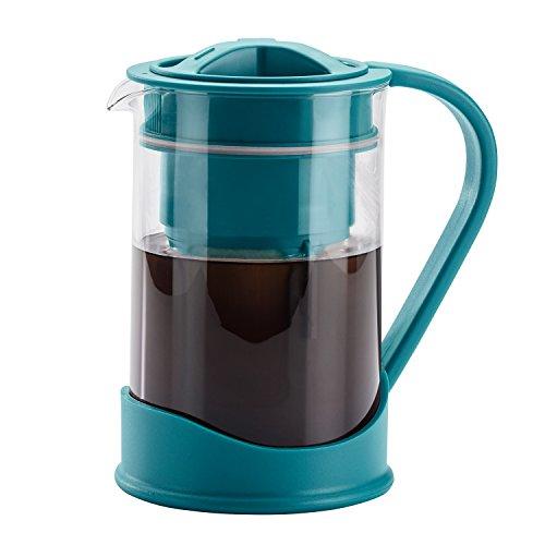BonJour 47113 Coffee Maker Cold Brewer, Aqua ()
