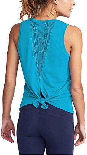 ghdonat.com BITOPYTOPSIY Womens Cute Workout Vest Tie Knot Back ...
